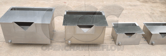 Dam Seepage Flow Monitoring Weir Boxes B 1